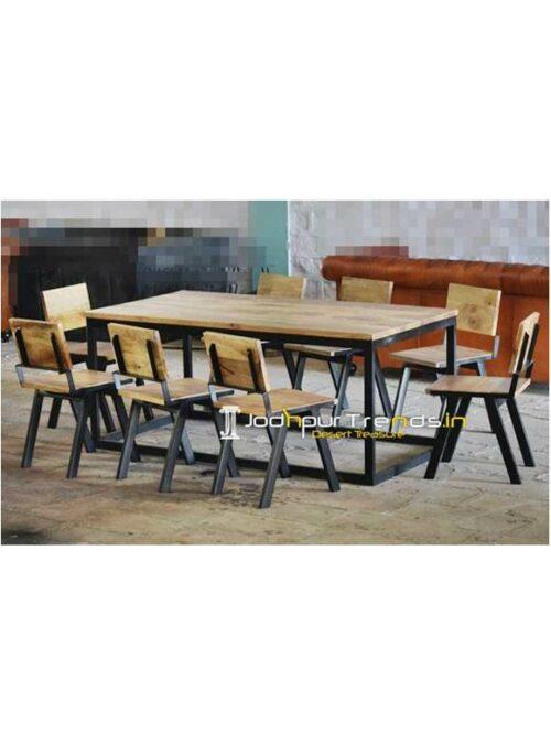 Long Table Set Bulk Cafe Furniture Cafe Restaurant Table Designs