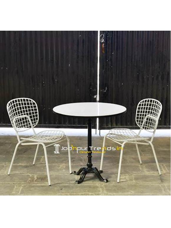 Marble Outdoor Table Marble Table Set Modern Hotel Furniture