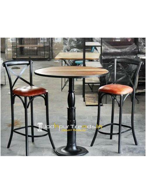 Metal Bar Table Cast Iron bar Commercial Bar Furniture