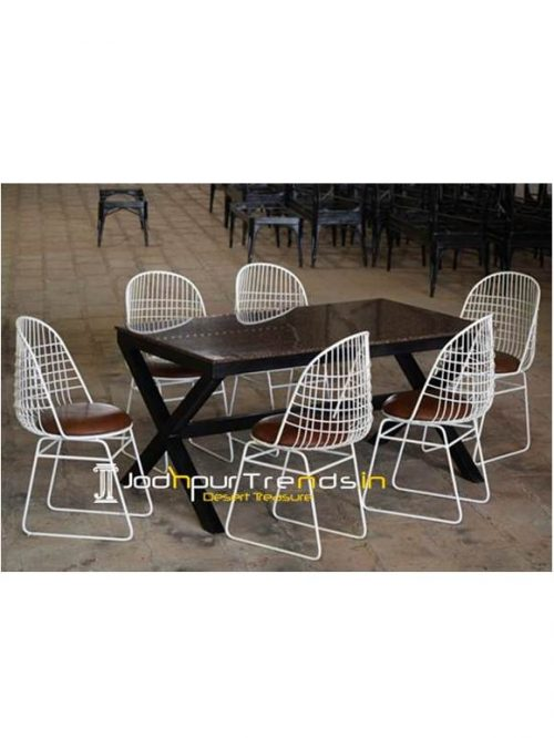 Outdoor Dining Table Granite Table Set Commercial Dining Furniture