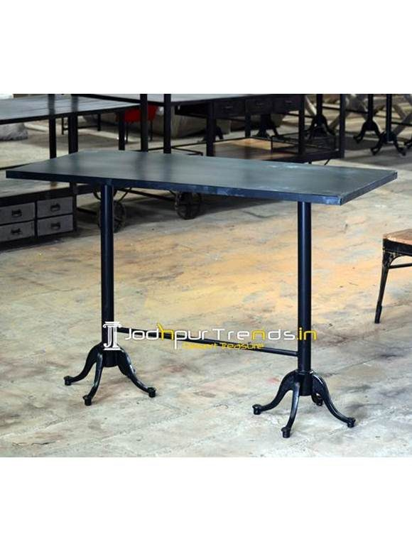 Outdoor Iron Bar Table Outdoor Counter Bar Table