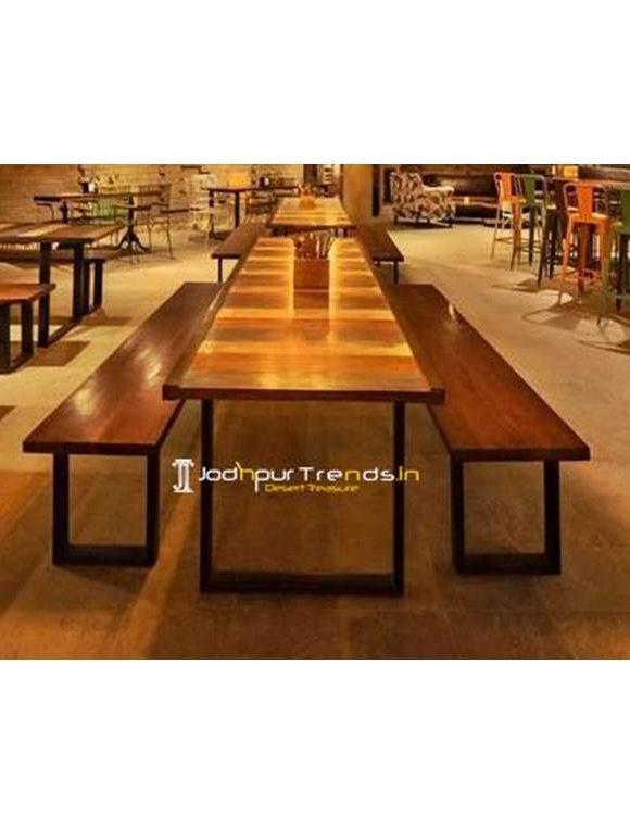 Outdoor Table Bench Set Bench Table Set Restaurant & Bar Furniture Rishikesh Uttarakhand