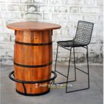 Round Bar Table  Bar Table Hotel Room Furniture India