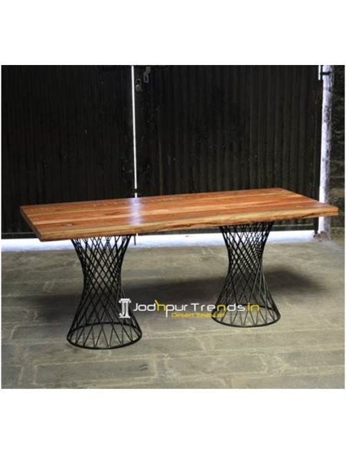 Round Base Table Restaurant Dining Room Furniture