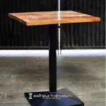 Solid Wood Modern Industrial Bar Table Modern Pub Table Design