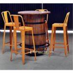 Unique Pub Furniture Barrel Table Set Pub Furniture Suppliers