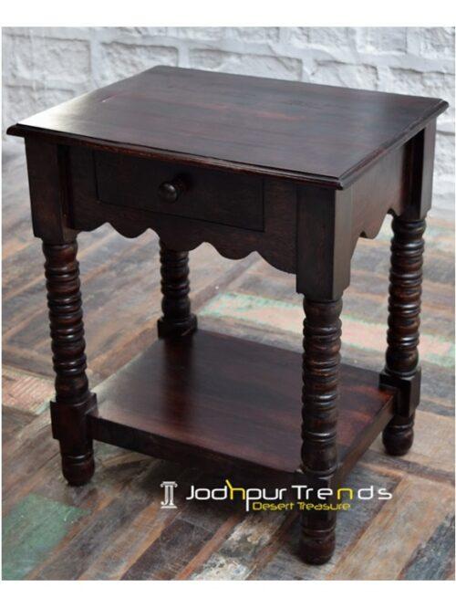 Bedroom Bedside Indian Rosewood Furniture