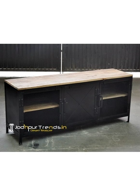 Black Duco TVC Unique Industrial Furniture