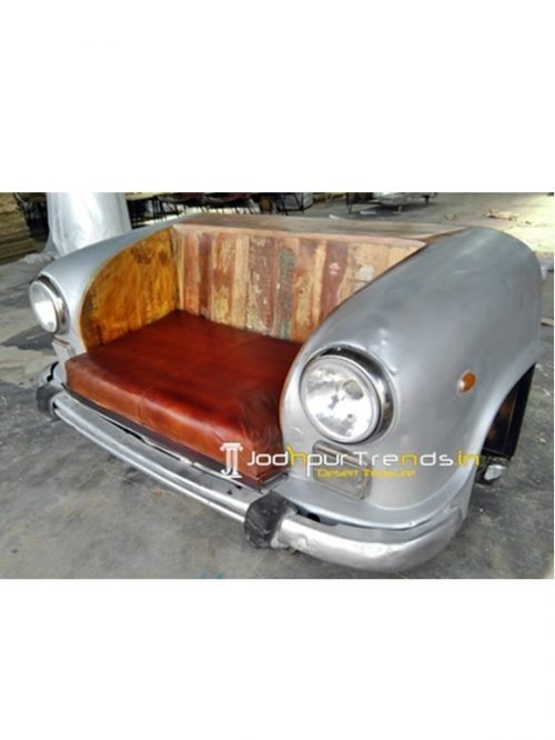 Car Sofa with Cushion Handicraft Export From India