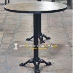 Cast Iron Mango Wood Bistro Table