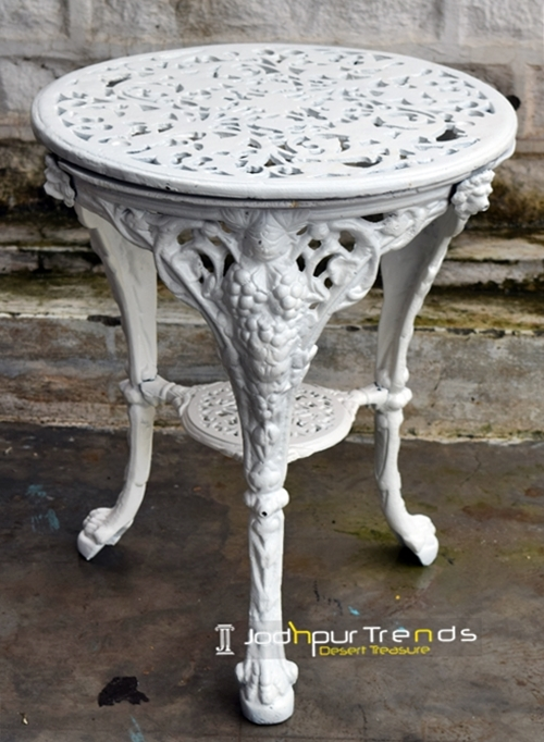 Cast Iron Round Table Restaurant Table Design