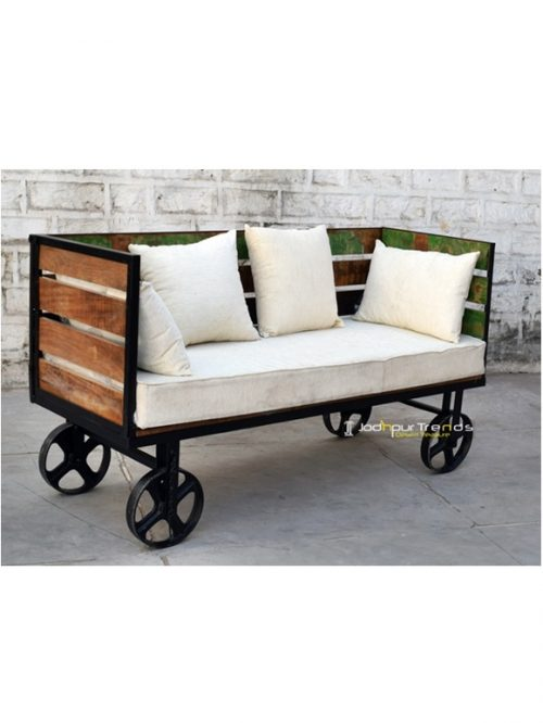 Cast Sofa Bench Solid Wood Furniture Manufacturers