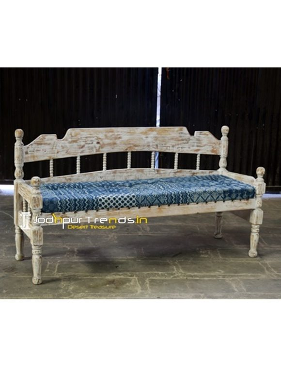 Distress Wooden Bench Wooden Furniture Exporters