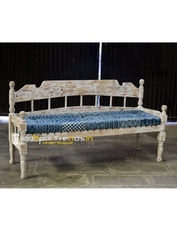 Distress Wooden Bench Wooden Furniture Exporters
