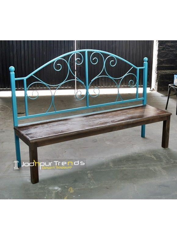 Duel Metal Bench