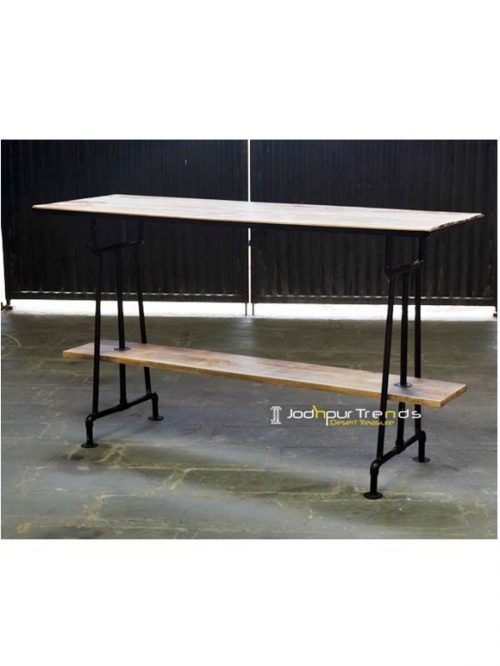 Eclectic Bar Table Industrial Style Furniture