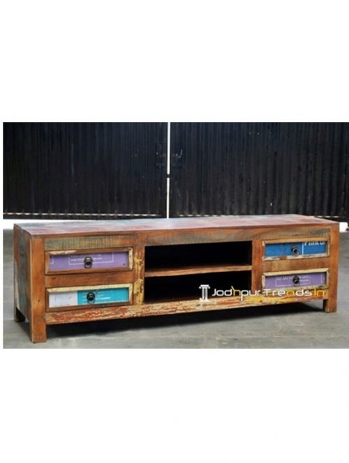 Four Drawer Reclaimed TVC Industrial Retro Furniture