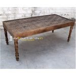 Hand Carved Restaurant Table Restaurant Table India