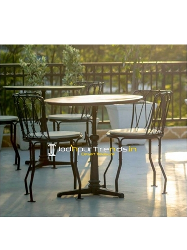 Hotel Garden Table Set Outdoor Furniture India