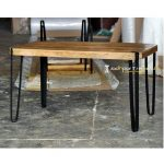 Iron Mango Wood Refectory Table