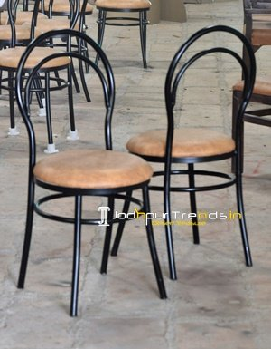 Iron Pipe Chair Canteen Tables and Chairs Manufacturers