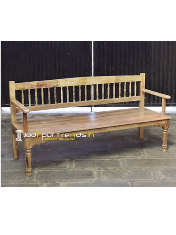 Mango Wood Bench Furniture Export