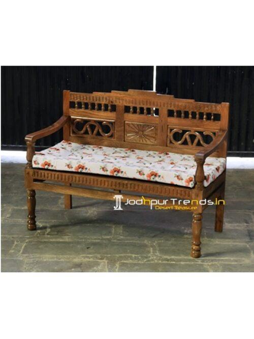 Mango Wooden Bench Wholesale Hotel Furniture