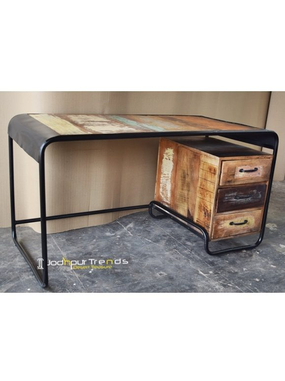 Metal Edge Study Table Furniture Manufacturer in India