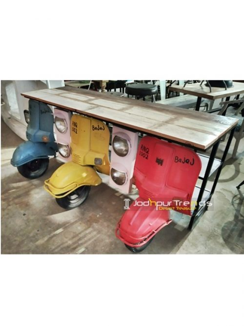 Old Scooter Event Counter Event Furniture Online