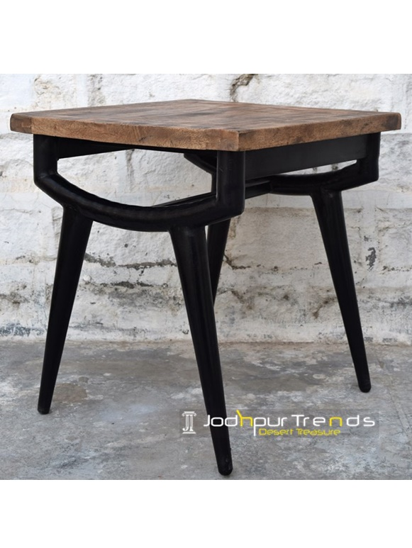 Pipe Bedroom Sidetable Iron Pipe Furniture