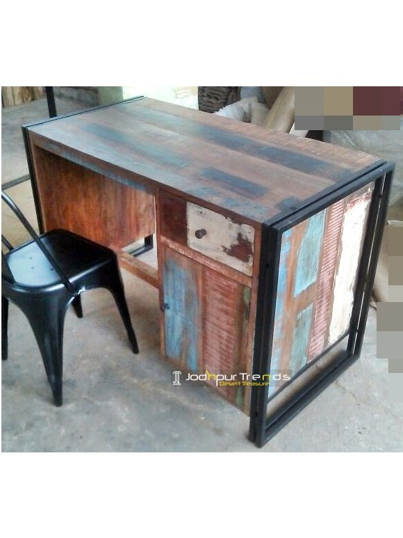 Reclaimed Study Table Furniture Factory Design