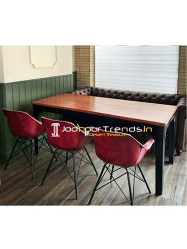 Restaurant Corner Dining Set Hotel Table and Chairs