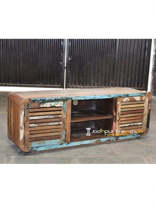 Round Edge Reclaimed TVC Indian Furniture Market