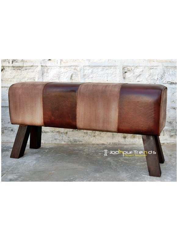 Signature Design Comfortable Leather Zym Stool