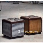 Storage Box Footstool