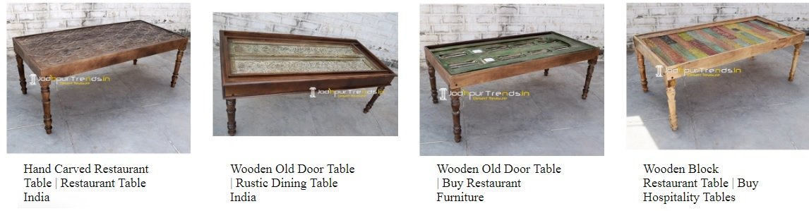 Wholesale-Restaurant-Furniture-In-India- Restaurant-Dining-Tables