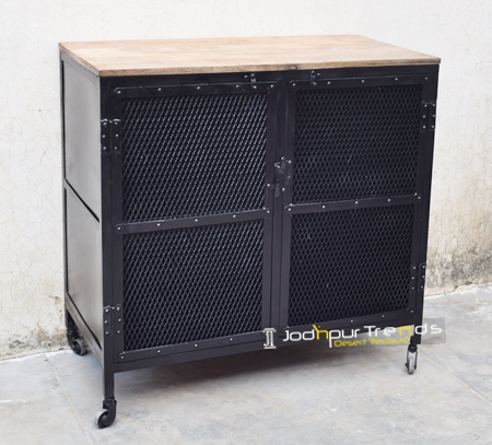 Modern Metal Sheet Hospitality Cabinet Furniture
