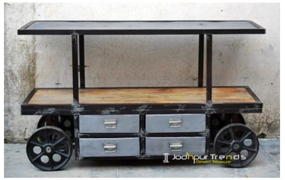Exhibition Cart Industrial Design