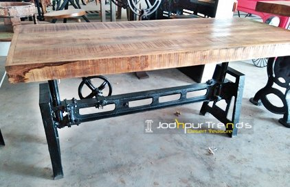 Heavy Duty Industrial Casting Ruff Center Table
