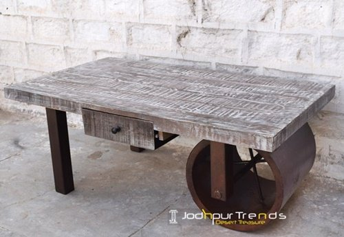 Heavy Metal Indian Industrial Manufacture Table