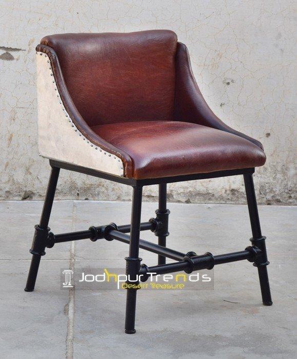 Leather Industrial restaurant furniture Chair Designs