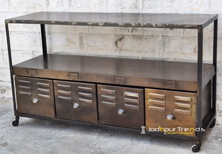 Metal Steel Console Furniture Factory
