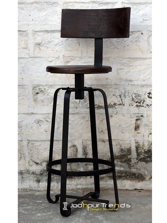 Rustic Bar Chair Industrial Furniture