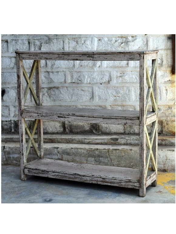 antique wooden display units, racks (1)