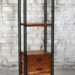 Reclaimed Wood Unique Display Unit Design
