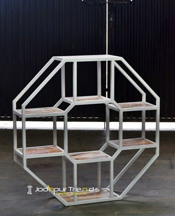 Diamond Shape Latest Display Unit Furniture Design