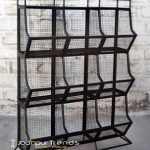 MS Iron Industrial Design Multi Storage Rack