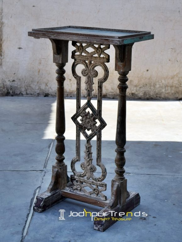 Antique Reproduction Pedestal Table Furniture