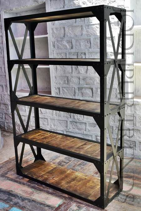 industrial bookcase Indian