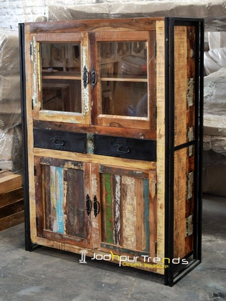Indian Handicraft Design Display Storage Unit